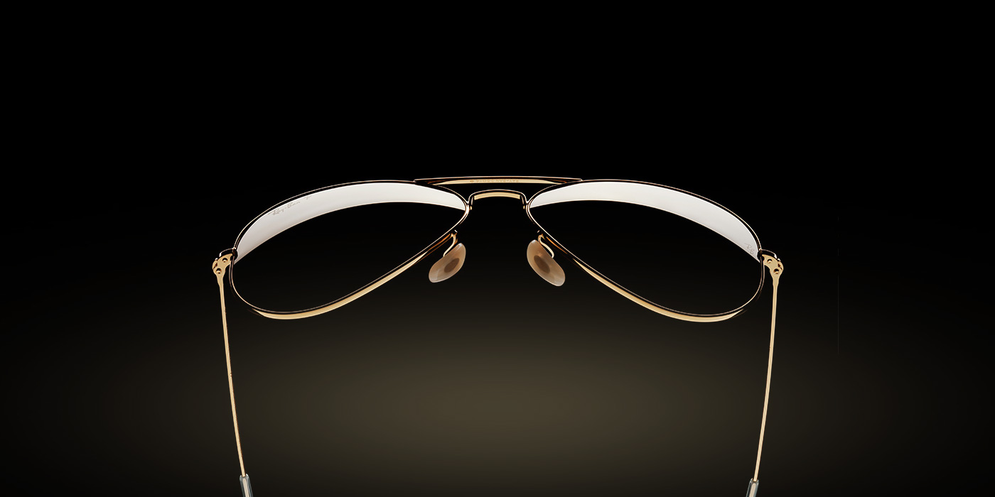 63a7dd9bc Ray-Ban Aviator Solid Gold RB3025K 160/N5 58-14 - Gold Blog