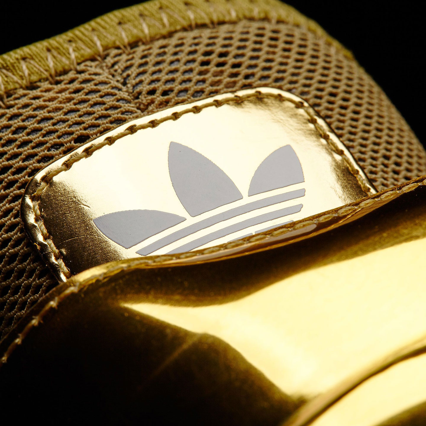 Flying high with gold Adidas Wings 3 Jeremy Scott sneakers