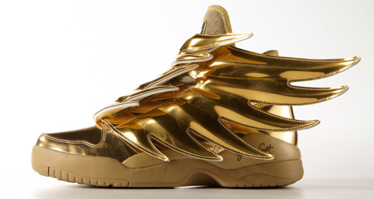 Gold Adidas Wings 3
