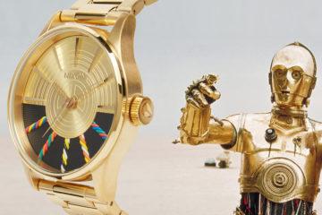 Nixon Star Wars Watches featured C-3PO
