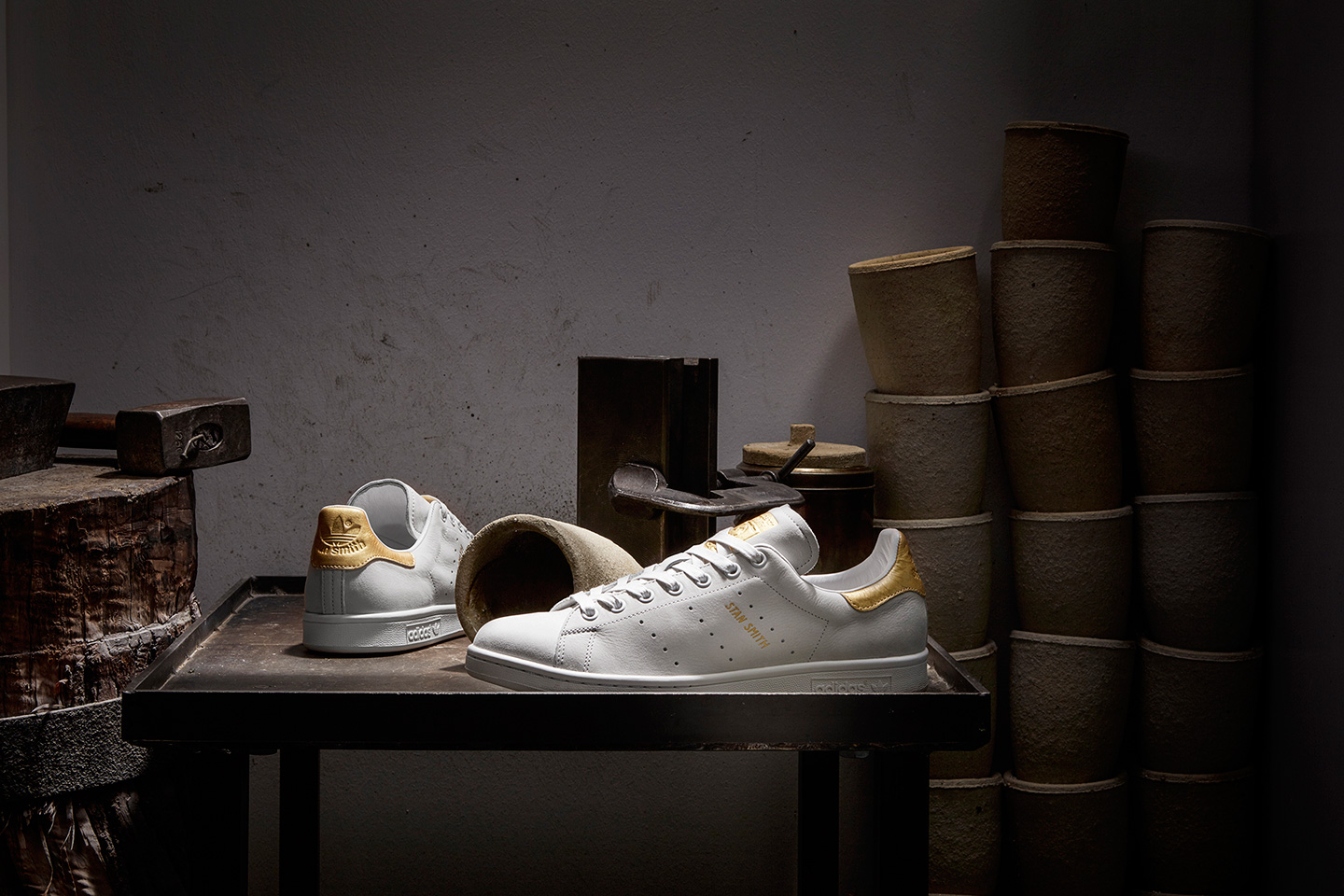 gold adidas orginal 999 gold stan smith rod laver