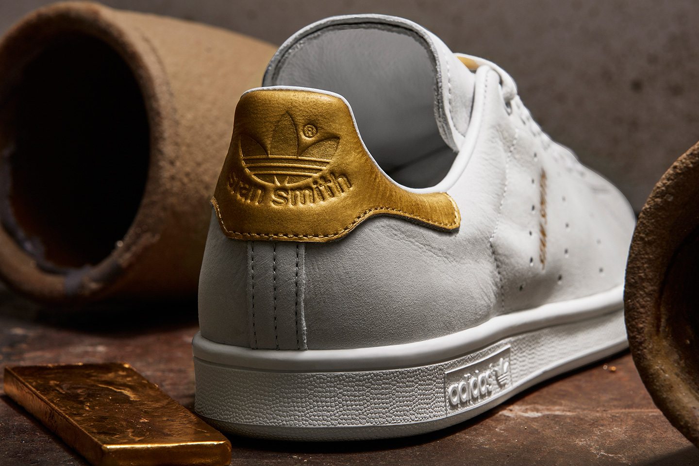 adidas orginal 999 gold stan smith rod laver