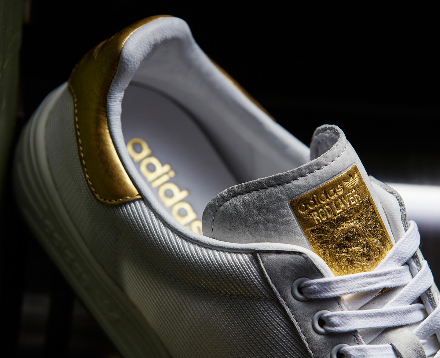 adidas orginal 999 gold stan smith rod laver 4