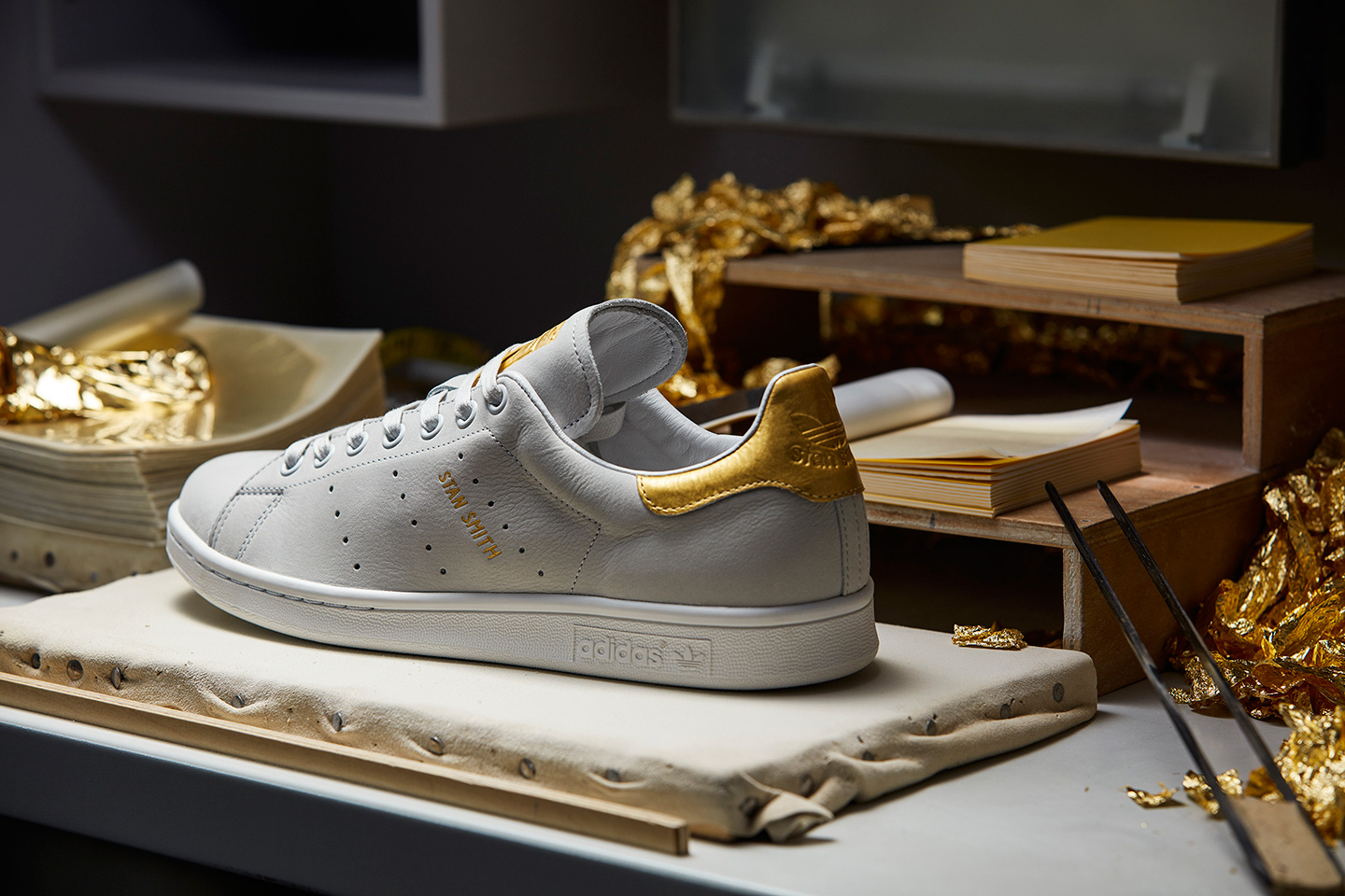 adidas orginal 999 gold stan smith rod laver 8