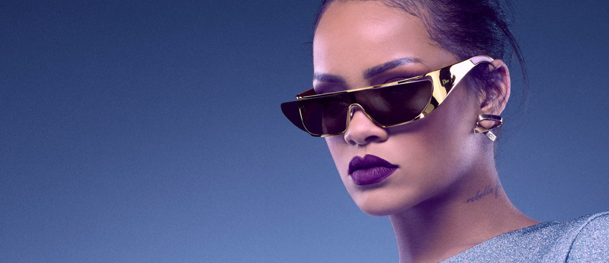Dior Rihanna Sunglasses Gold featured 2