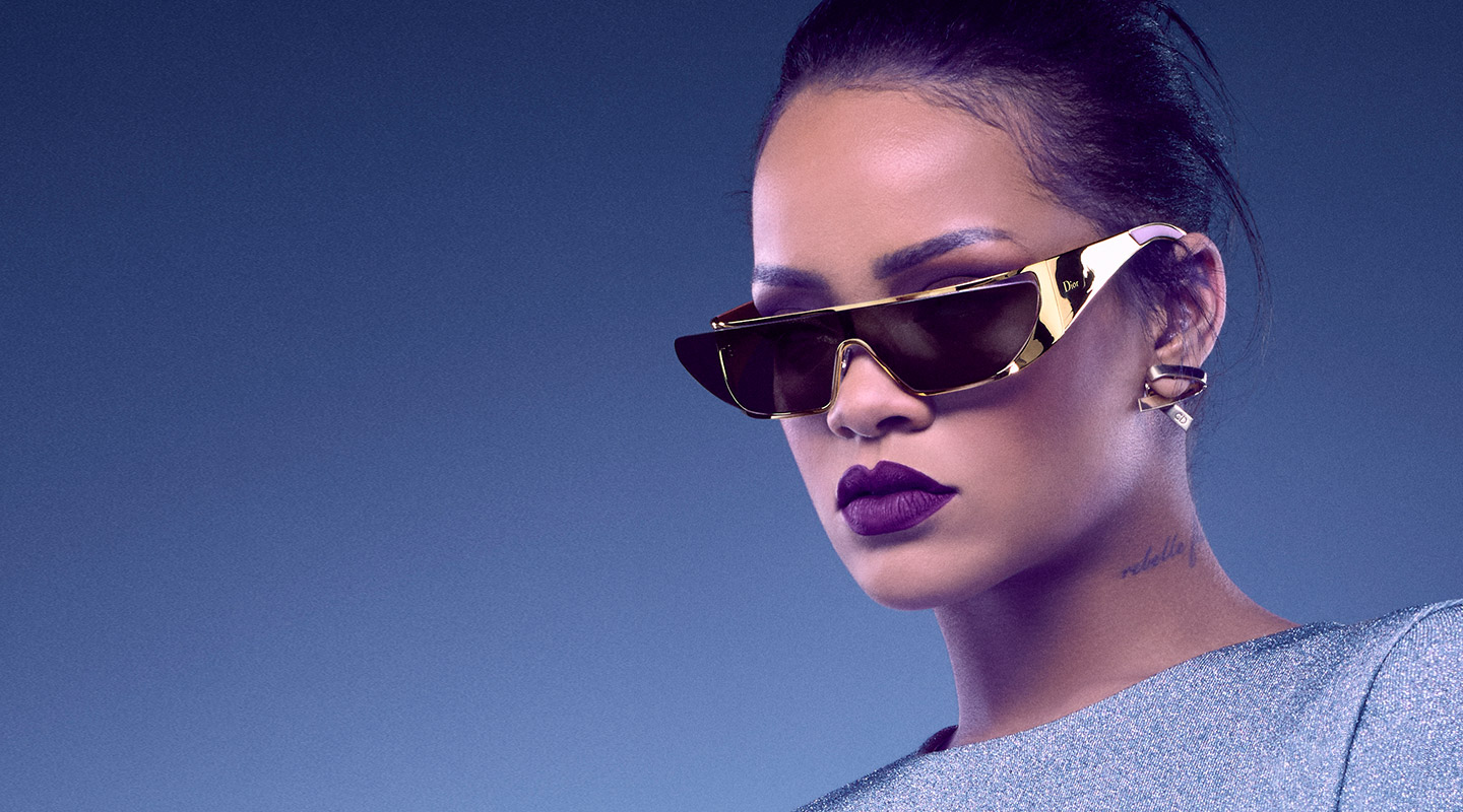 0da6dd35a8 Dior Rihanna Sunglasses exclusive Gold edition