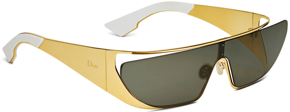 Dior Rihanna Sunglasses Gold gold gold-plated