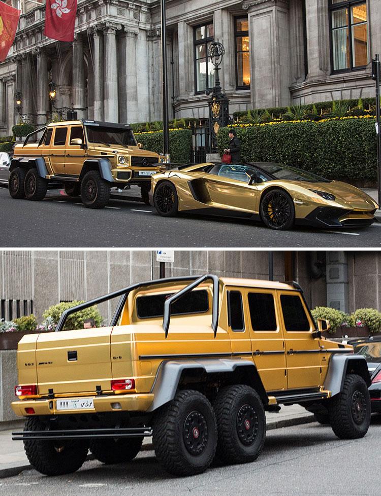 gold cars london 2