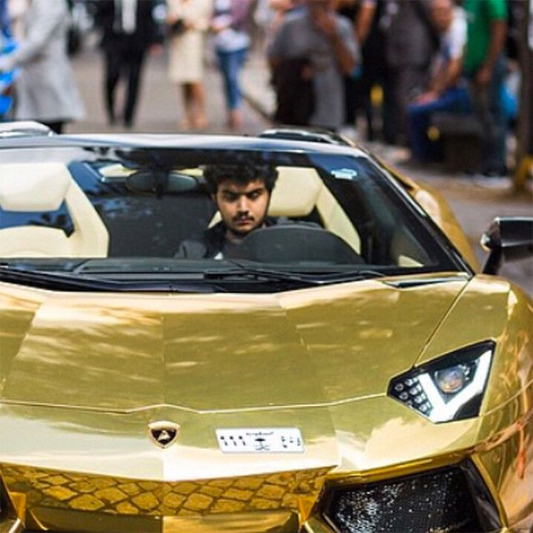 The Gold Supercars of London - Gold Blog