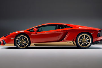 Lamborghini Aventador Miura 50 homage side featured