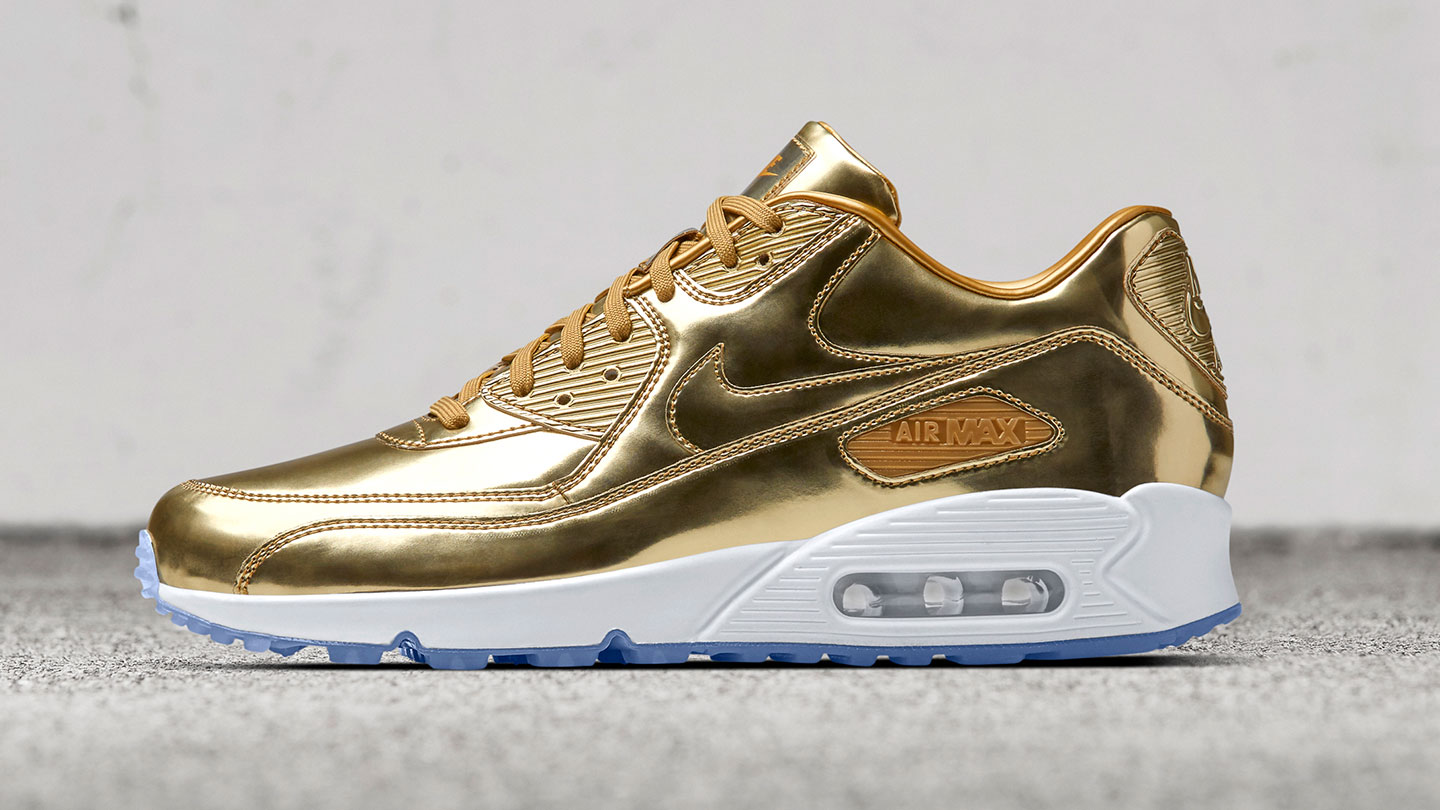 super popular 0dae5 1ed3a white and gold air max 90   OFF53% Discounts