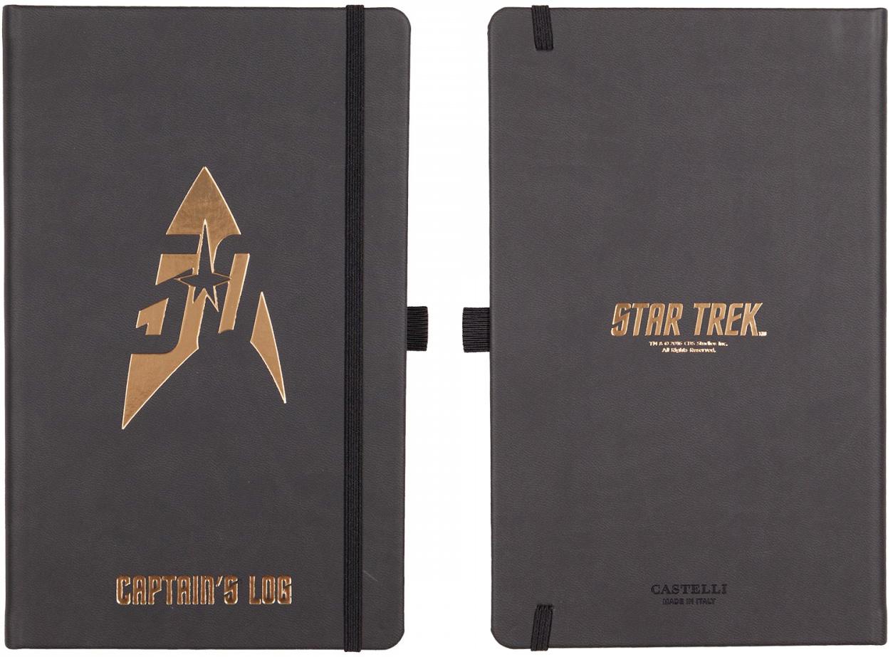 gold star trek 50th anniversary journal