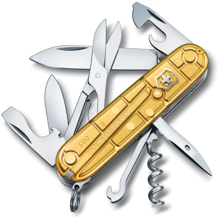 Victorinox Climber Gold Swiss Army Knife Limited Special