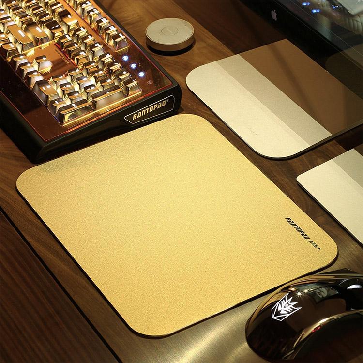 Rantopad gold mouse pad keyboard