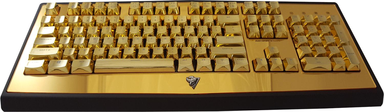 Gold Keyboard Rantopad