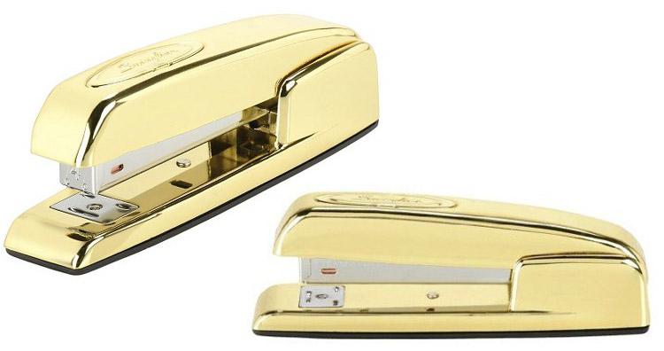 nate berkus gold stapler