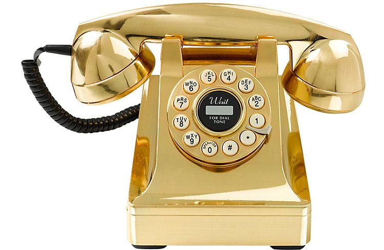 Gold Telephone Wild Wolf 1