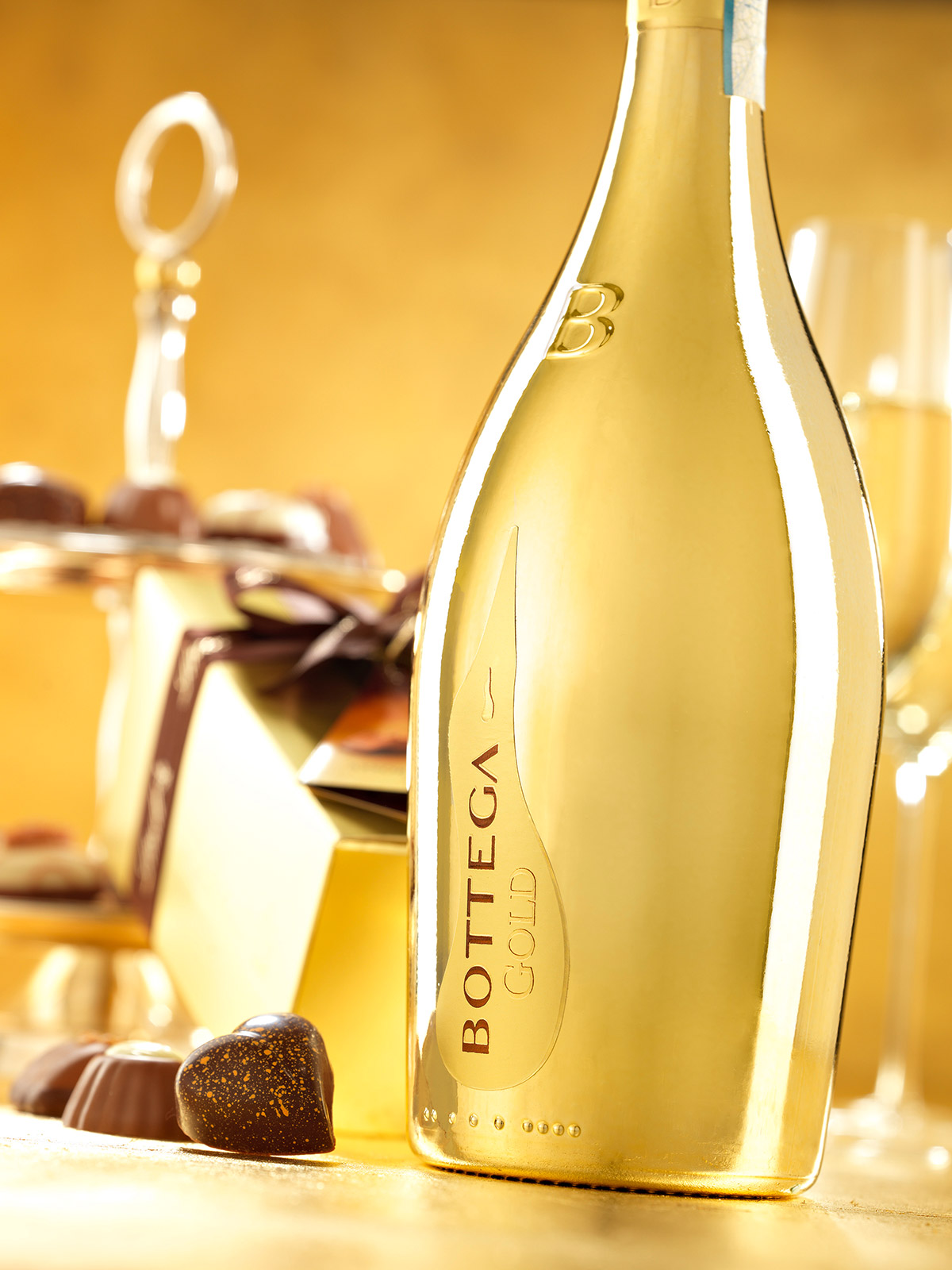 Bottega Lindt gold gift set 1